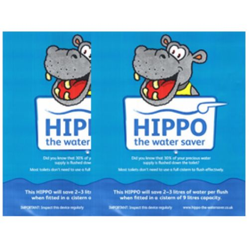 Hippo Water Saving Bag (Saves water with every flush)